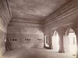 Interior of Man Mandir, Gwalior Fort.